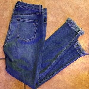 NWT - WILLIAM RAST Sculpted High Rise Skinny Jeans